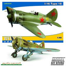 I-16 Type 18 - 1/48 Weekend editon Eduard Aircraft Model Kit #8465