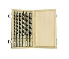 6 Pc 9 Inch Auger Drill Bit Set Wood Drill Bits Woodworking Bits
