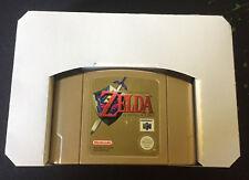 2x Nintendo 64 Cartridge Insert Tray / Game Box Insert N64 White Reproduction AU