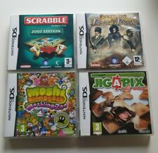NINTENDO DS GAMES BUNDLE SCRABBLE JIG4PIX WILD WORLD BATTLES OF PRINCE OF PERSIA