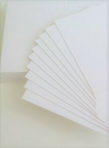 80 x Artist Trading Watercolour High White Card Smooth (Textured) 300gsm JLH114