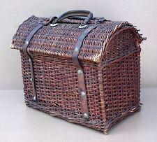 4ac1035be1fa2 Ancien PANIER BRESSAN en osier ou rotin déco campagne rustique old wicker  basket