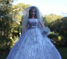 Millennium Bride Barbie Doll Limited Edition 2000 + Collector Pin