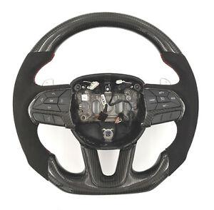 Carbon Lenkrad für Dodge Challenger Carbon-Alcantara Carbonfiber steering wheel