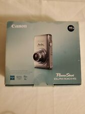 Canon PowerShot ELPH 100 HS 12.1MP Digital Camera FULL HD W/ 8 GB SD - Blue