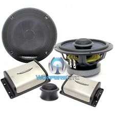 "IMAGE DYNAMICS CXS64-V2 6.5"" 4-OHM COMPONENT SPEAKERS SILK TWEETERS CROSSOVERS"