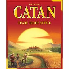 SETTLERS OF CATAN 5th EDITION 2015 REFRESH 3-4 PLAYERS AGE 10+