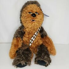 "Build A Bear Chewbacca Star Wars Wookie Plush Stuffed Animal 22"" Tall New W/Tag"
