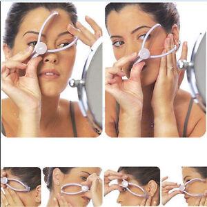 Face Body Hair Threader Removal Threading Facial Epilator Slique Design Tool UK