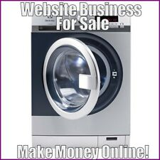 Fully Stocked WASHING MACHINES Website Business|FREE Domain|Hosting|Traffic