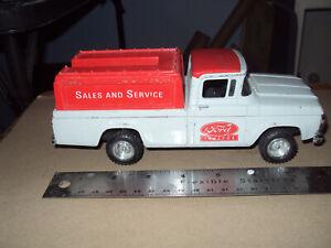 Sales & Service 1960 Ford 4x4 Pickup Truck Bank * Diecast * ERTL *