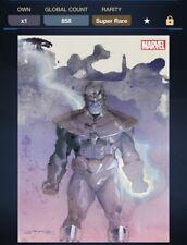 Topps Marvel Collect Digital Thanos Watercolors Award SR