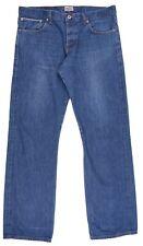 Naked & Famous SlimGuy Natural Indigo Selvedge 100% Cotton Denim Jeans 36