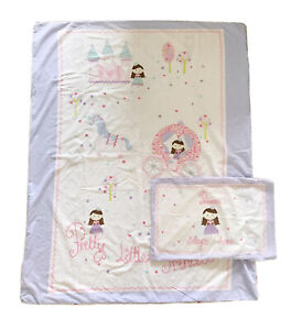 NEXT Toddler Bed 'Princess' Duvet Cover Bed Set 120 x 150cm