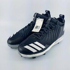 more photos 72694 46b4c adidas Boost Icon 3 Metal Baseball Cleats - Black White - B39167 - Size