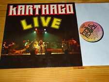 KARTHAGO - LIVE (BAC 2042) / GERMANY BACILLUS-VINYL-LP 1976 (MINT-)