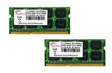 8 GB g. Skill DDR3 PC3-10666 CL9 SQ Serie Dual-channel laptop memory kit (2x4GB)
