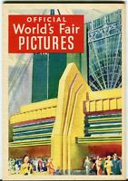 A Century of Progress 1933 Official Pictures Chicago Illinois Worlds Fair Book