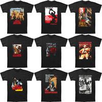 New Texas Chainsaw Massacre Movie Man T-Shirt Short Sleeve Black S-3XL