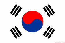 SOUTH KOREA FLAG 3X2 feet 90cm x 60cm FLAGS  KOREAN