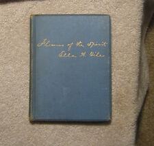 Flowers of the Spirit Ella Giles 1891 Poems Hardcover