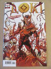 Loki #1 Marvel Comics 2019 Series Carnage-ized Variant 9.6 Near Mint+