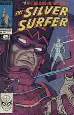 SILVER SURFER LIMITED SERIES #1-2 NEAR MINT 9.4 COMPLETE SET 1988 MARVEL COMICS
