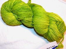 Spring Green APPLE Lg Skein 210yd Malabrigo WORSTED Pure SOFT Merino Wool YARN