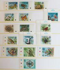 Seychelles Outer Islands – Zil Eloigne Sesel – 1980 Set (SG 1-16) UM (MNH) (R8)