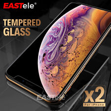 2X iPhone 11 PRO XR XS XS Max X 7 8 6S Plus SE Tempered Glass Screen Protector