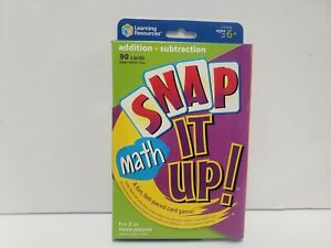 Snap It Up Game! Math