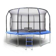 14 ft.Trampoline Enclosure Safety Net, Black,Trampoline Net Fence Sporting Tool