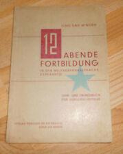 Lingua esperanto libro di testo 1932 + giovane e Wingen