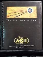 Archery ACI 1996-1997 Catalog Crossbows PSE Bear Martin Family Collection Bow