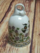 Hutschenreuther March/Marz Porcelain Bell With Floral/Bird Design