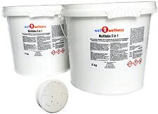 Chlortabletten Pool Multitabs 5 in 1 200g mit 96%25 Aktivchlor 10 kg (2 x 5 kg)