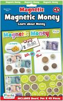 Fiesta Crafts MAGNETIC MONEY Educational Childrens Toy BN
