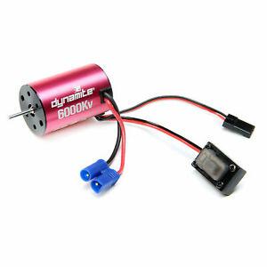 Brushless Motor/ESC 2-in-1 Combo, 6000Kv: Mini-T 2.0 : DYNS0501