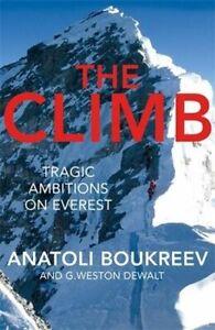 NEW The Climb By Anatoli Boukreev Paperback Free Shipping