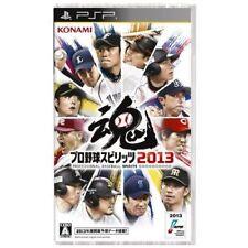 Used PSP Pro Yakyuu Spirits 2013 SONY PLAYSTATION JAPAN IMPORT