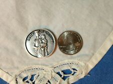 """OUR LADY of CARMEL"" Patron of Weakness""  POCKET TOKEN"" 1-1/2"" Round NEW"