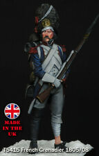 Troop54 Napoleonic French Grenadier 1805/08 54mm Unpainted kit