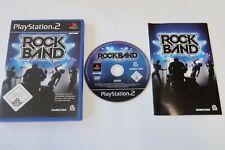 Rock Band PS2 Sony PlayStation 2
