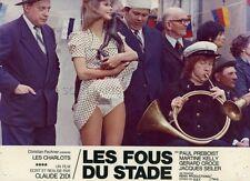 LES CHARLOTS PAUL PREBOIST LES FOUS DU STADE 1972 VINTAGE PHOTO ORIGINAL #3