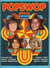 Popswop Annual 1974    The Sweet     David Bowie     Noel Edmonds
