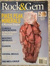 Rock And Gem Pikes Peak Minerals A Museum Display August 2014 FREE SHIPPING!