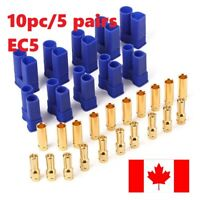 EC5 Male Female Gold Plated Pins Connector 10pc - 5 pairs. Ships from ON. Canada