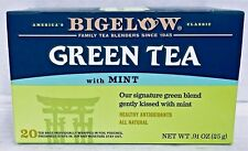 Bigelow Green Tea with Mint .91 oz 20 Tea Bags