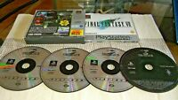 Final Fantasy VII 7 PlayStation Ps1 WITH FFVIII DEMO DISC  PS1