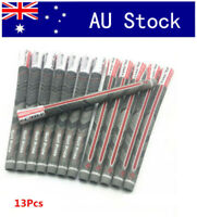 13PCS Golf Pride Multi Compound MCC Plus 4 ALIGN midsize Grips Grey-Black-Red